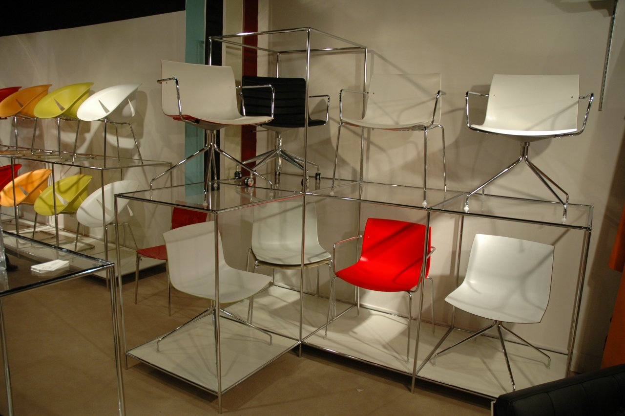 Retail Furniture Chair Display Abstracta