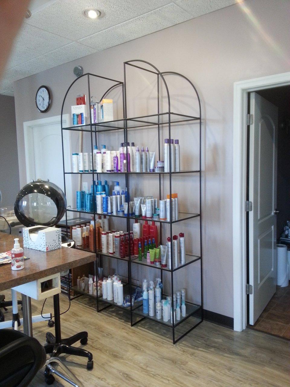 Salon Product Display Abstracta