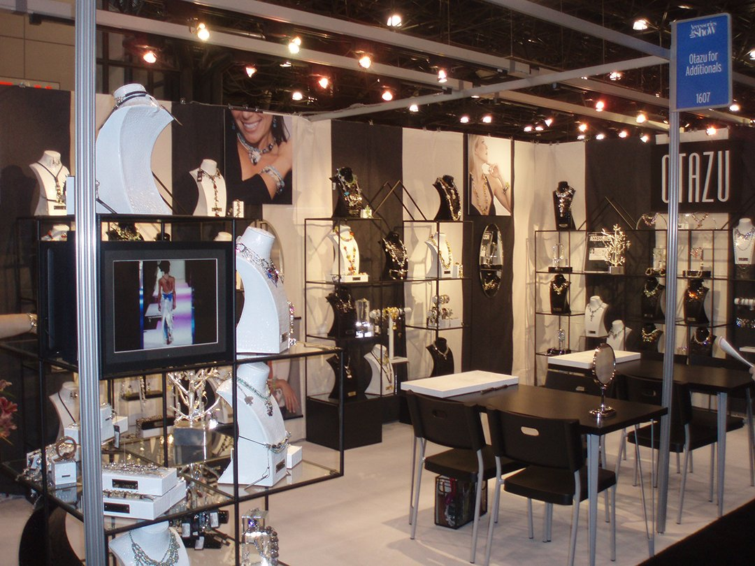 Abstracta is built on your imagination abstracta for Jewelry display trade show